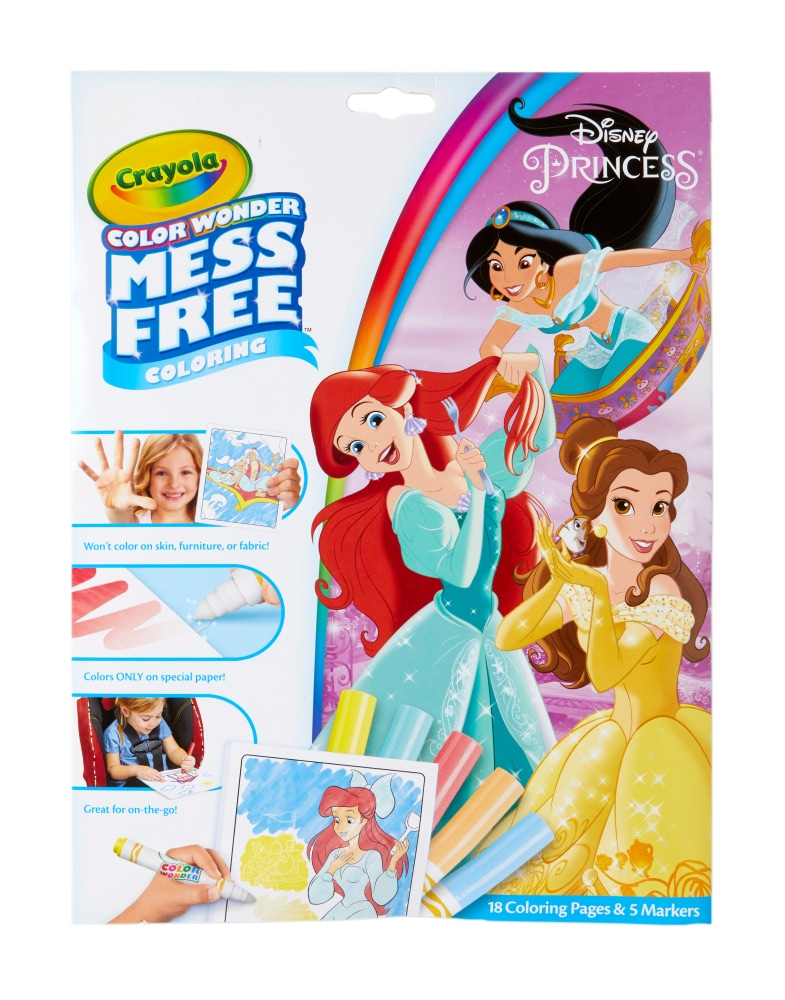 - Crayola Color Wonder Disney Princess Coloring Pages & Markers, 1 Ct - King  Soopers