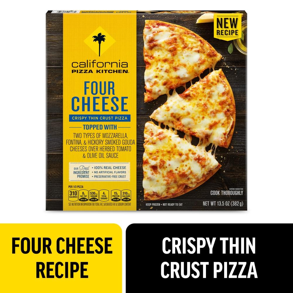 Ralphs California Pizza Kitchen Four Cheese Crispy Thin