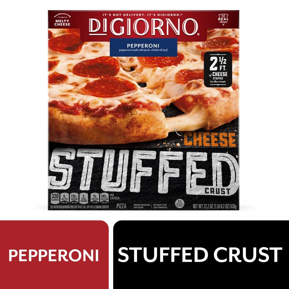 Qfc Digiorno Cheese Stuffed Crust Pepperoni Pizza