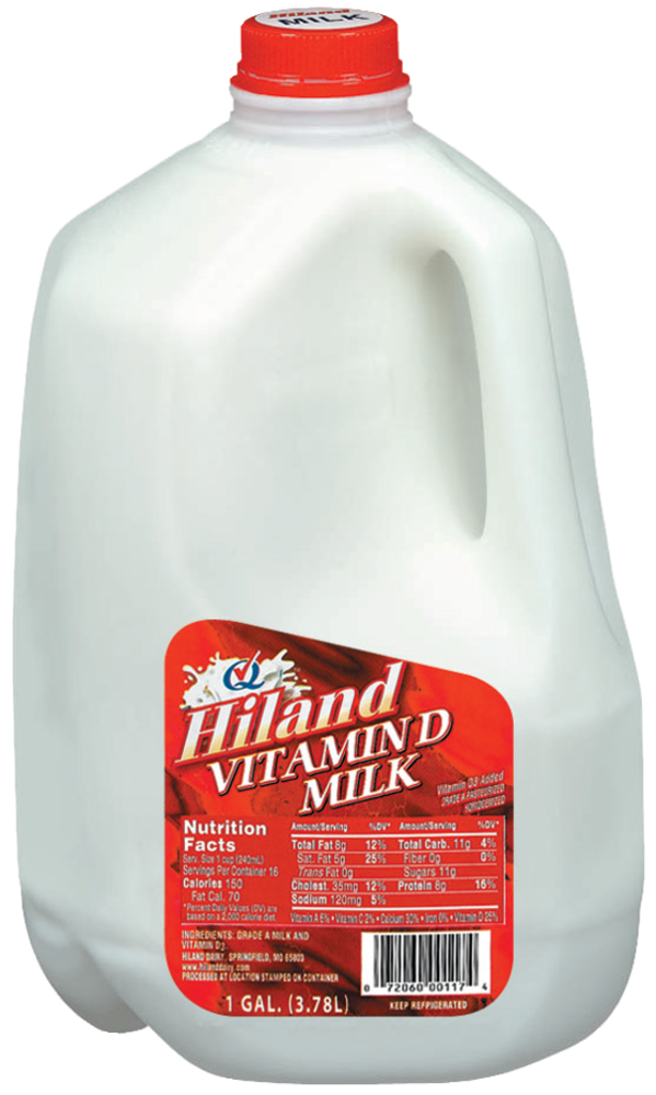 Baker S Hiland Dairy Whole Milk 1 Gal