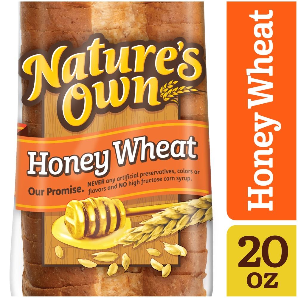 Honey Wheat Sliced Bread