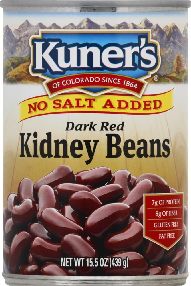 City Market Kuner S No Salt Added Dark Red Kidney Beans 15 Oz