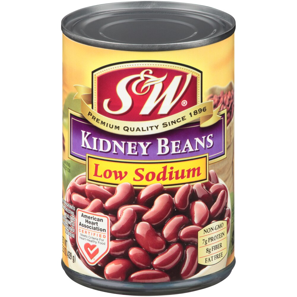 Fred Meyer S W 50 Less Sodium Premium Kidney Beans 15 25 Oz