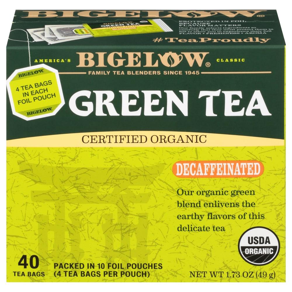 Bigelow Organic Decaffeinated Green Tea