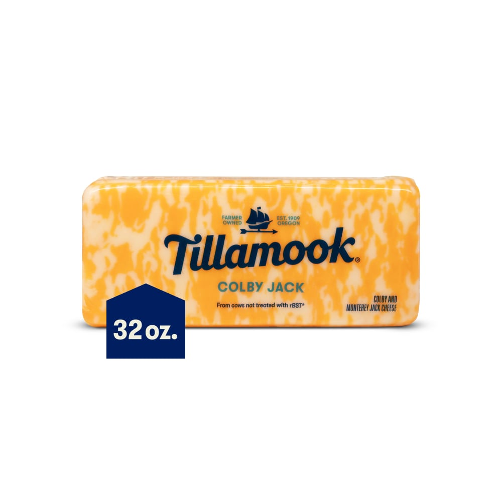 QFC - Tillamook Colby Jack Cheese Baby Loaf, 2 lb
