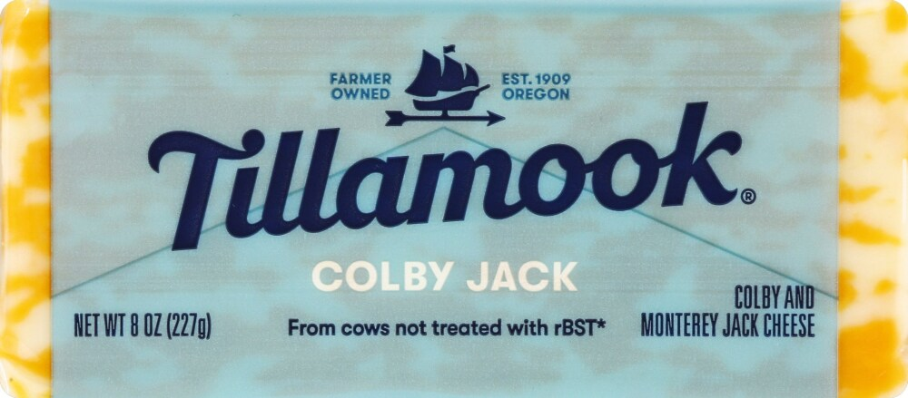Fry's Food Stores - Tillamook Colby Jack Cheese, 8 oz