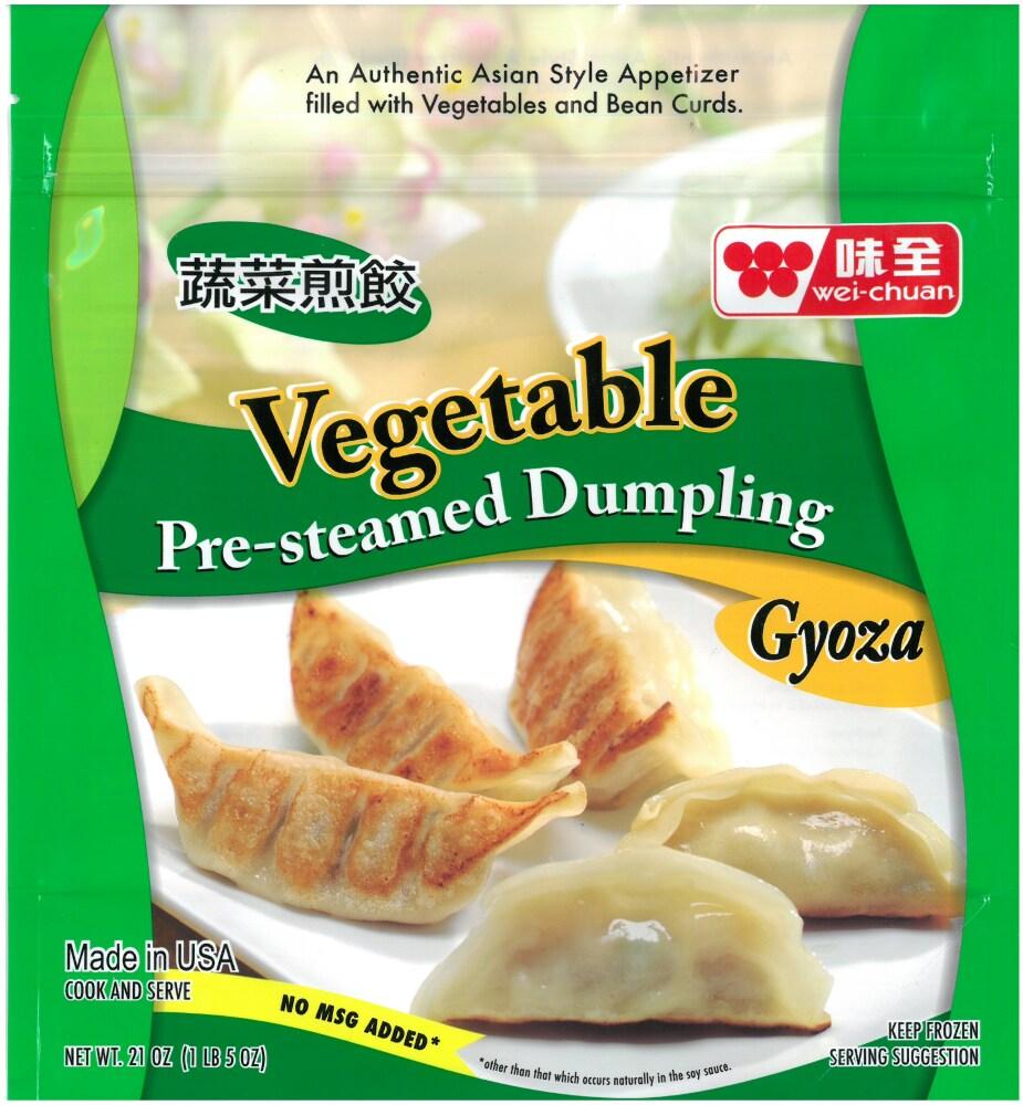 King Soopers Wei Chuan Pre Steamed Vegetable Dumplings 21 Oz