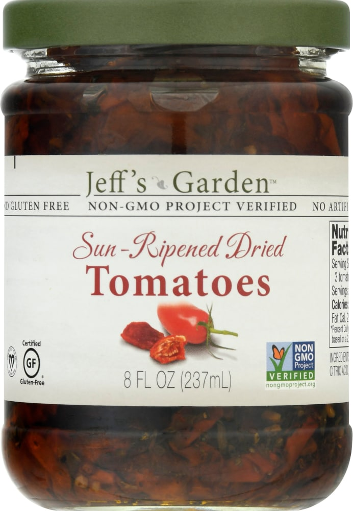 Jeff S Naurals Sun Dried Tomatoes In Olive Oil 8 Oz Ralphs