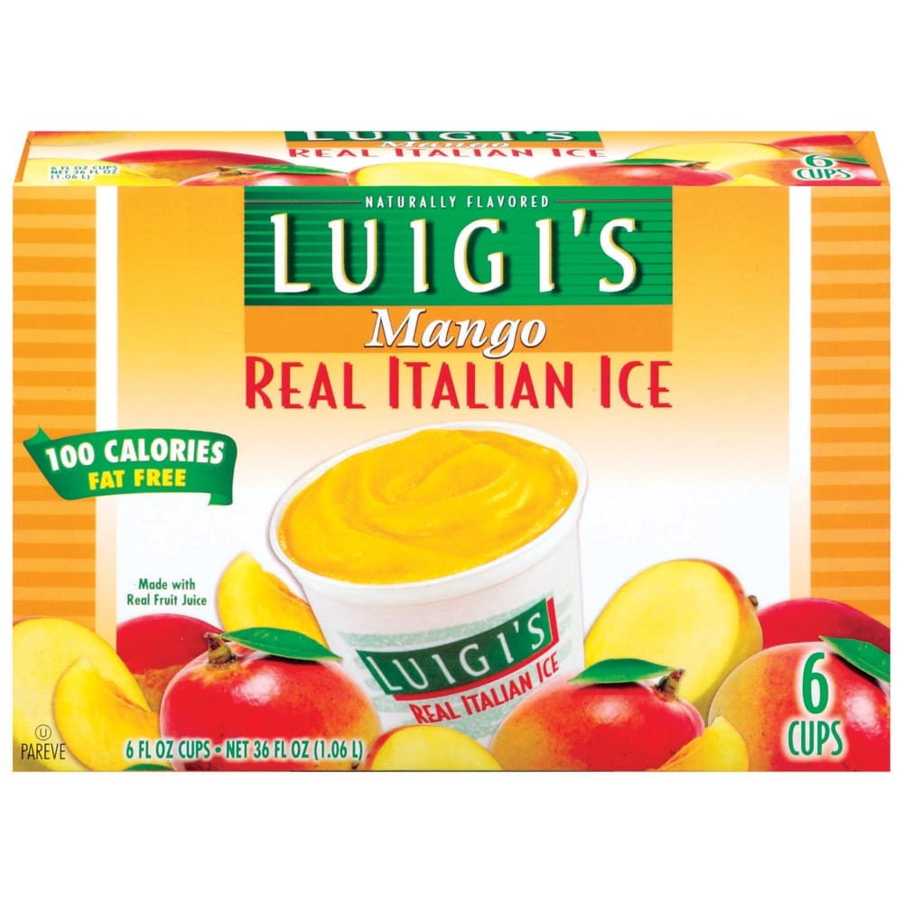 Mango Real Italian Ice