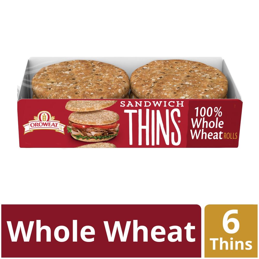 Whole Wheat Sandwich Thins 6