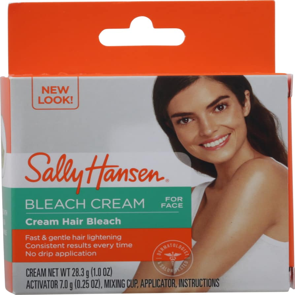Kroger Sally Hansen Cream Hair Bleach For Face 1 25 Oz