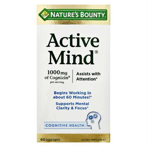 Food 4 Less - Nature\'s Bounty Active Mind 1000 mg of Cognizin with ...