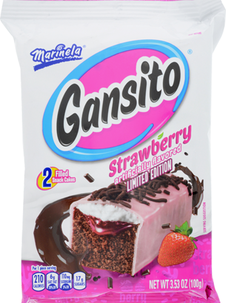 Foods Co Marinela Gansito Strawberry Flavored Snack Cakes 2 Count 3 53 Oz