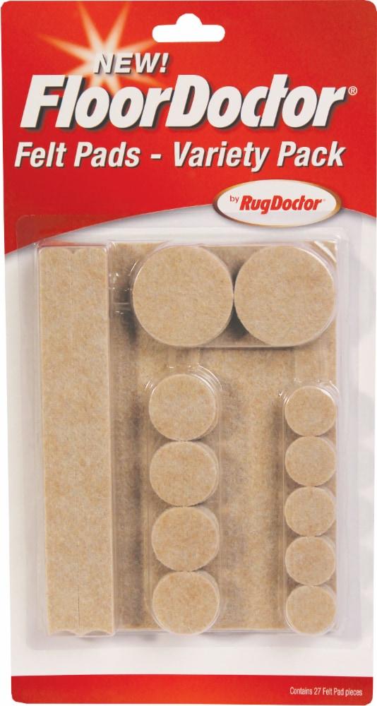 Rug Doctor® Variety Pack Felt Pads