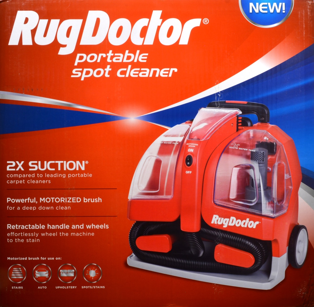 Rug Doctor Portable Spot Cleaner Perspective Front
