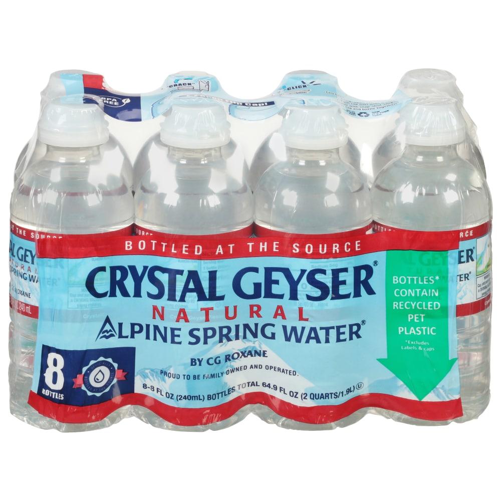 Food 4 Less - Crystal Geyser Natural Alpine Spring Water, 8