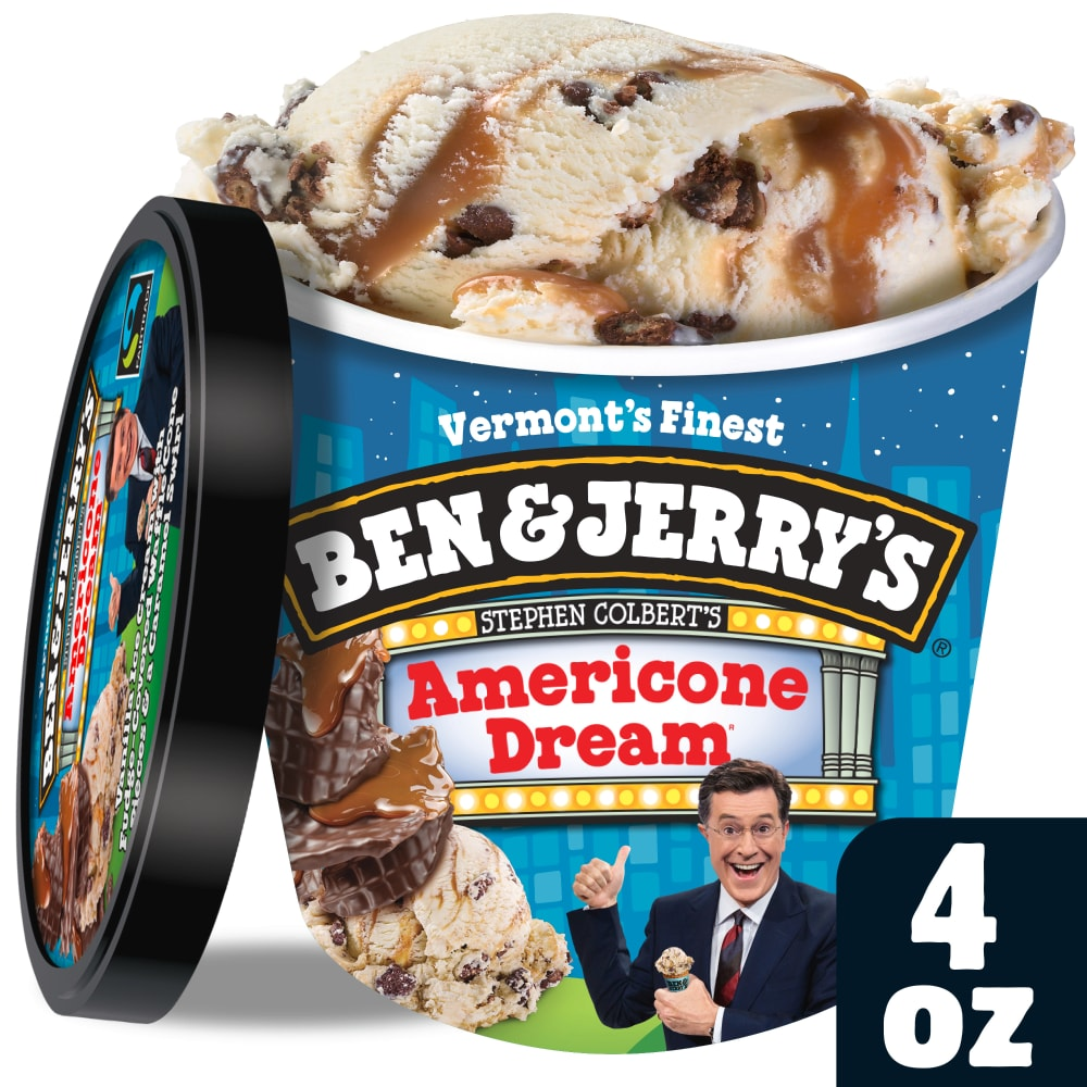 Ben Jerry S Americone Dream Ice Cream 4 Fl Oz King Soopers Get free shipping at $35 and view promotions and reviews for ben & jerry's ice cream americone dream. king soopers ben jerry s americone dream ice cream 4 fl oz