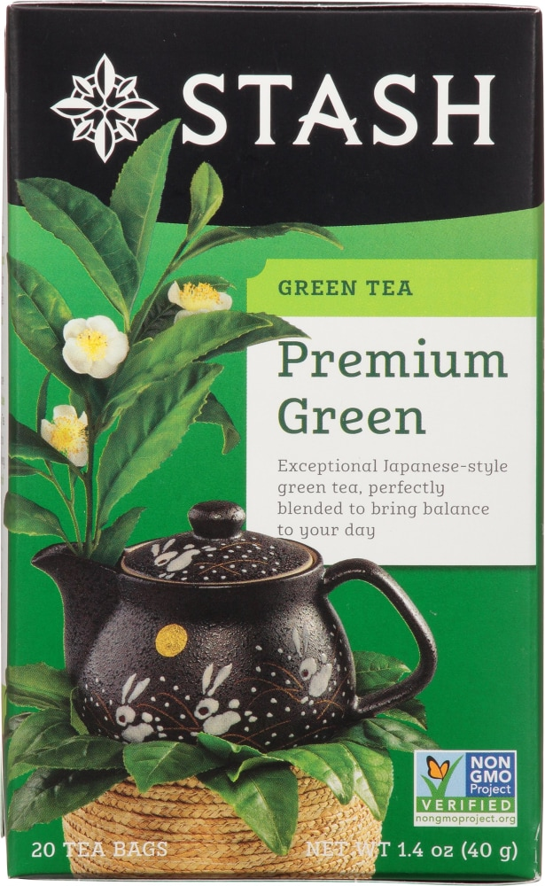 Kroger - Stash Premium Green Tea, 20 ct