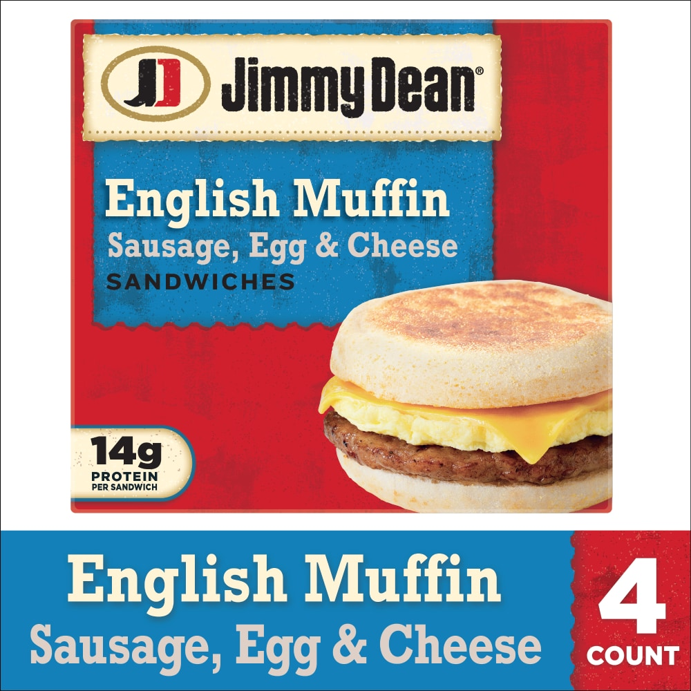 Jimmy Dean Sausage Egg & Cheese