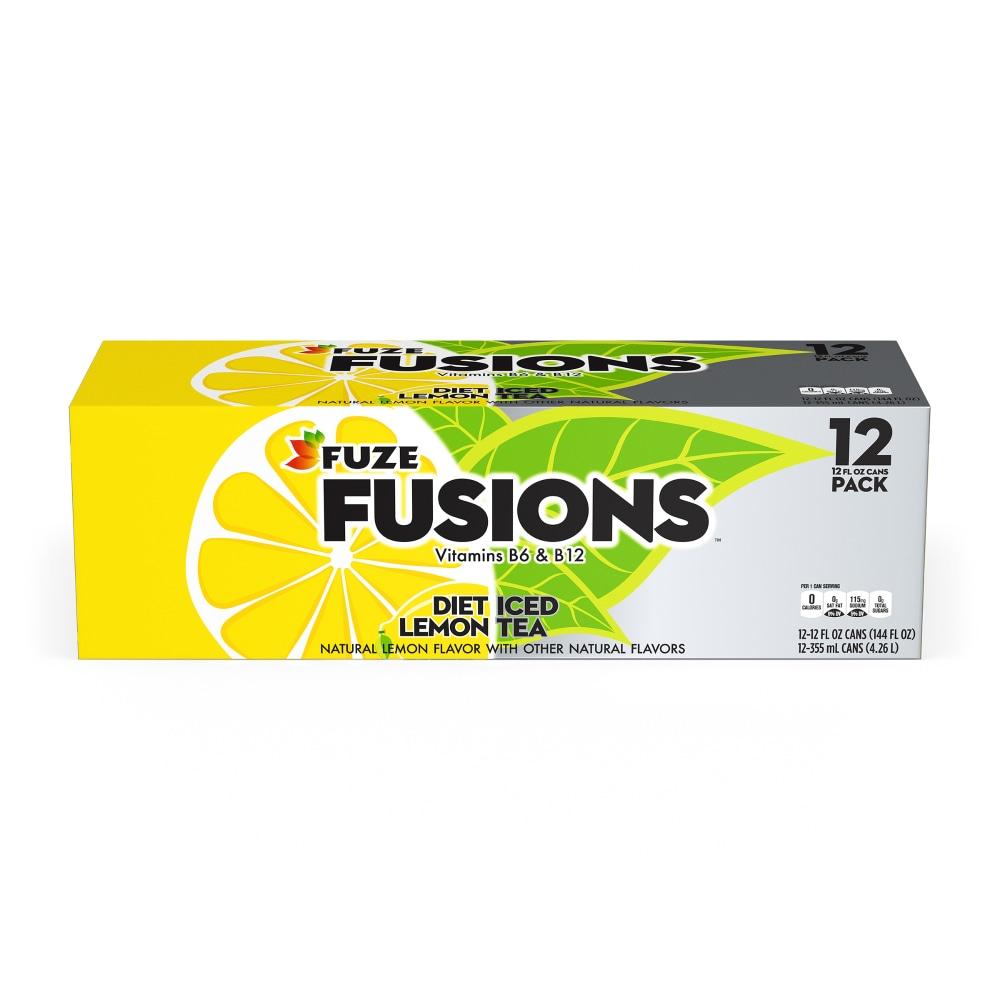 Fuze Diet Lemon Iced Tea Fridge Pack