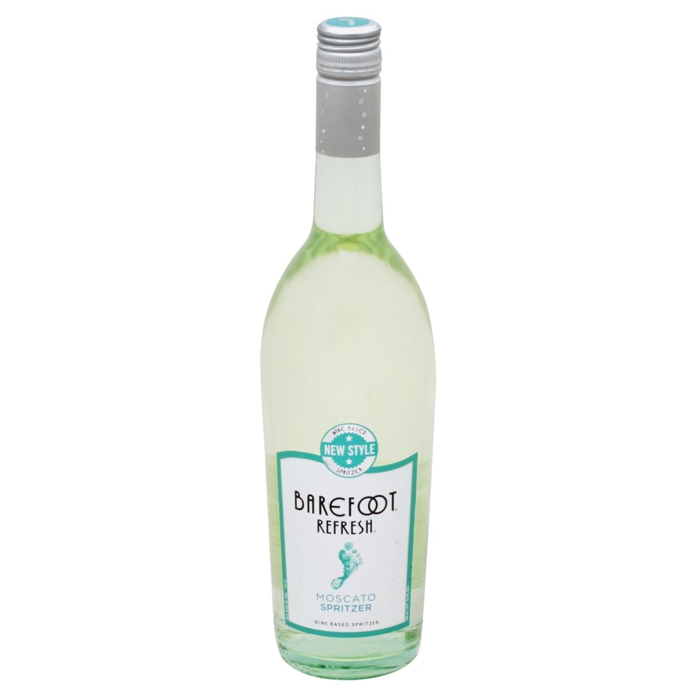 Kroger - Barefoot Spritzer Moscato Sweet White Wine, 750 mL