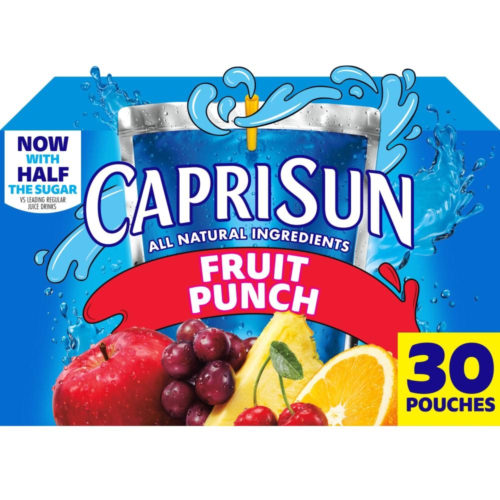 Capri Sun Fruit Punch Flavored Juice