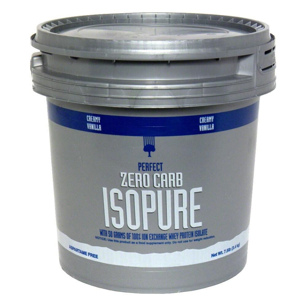 Food 4 Less Isopure Perfect Zero Carb Creamy Vanilla Protein Powder 7 5 Lb