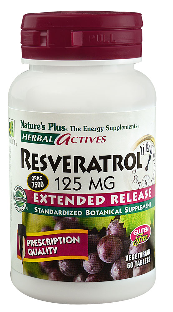 Kroger Nature S Plus Resveratrol Supplement 60 Ct
