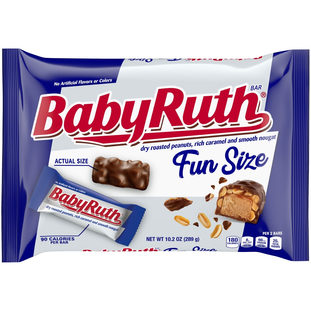 Food 4 Less Baby Ruth Fun Size Candy Bars 102 Oz