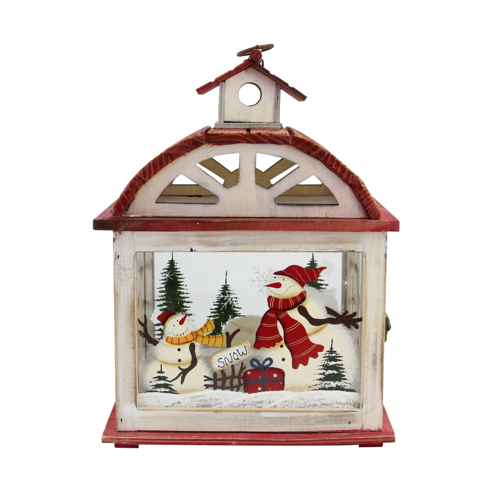 Fry S Food Stores Northlight 32618601 14 5 In Snowman Metal X Mas Candle Lantern 1
