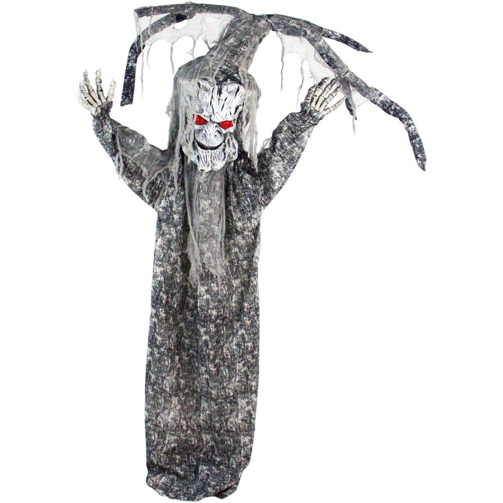 Haunted Hill Farm Animatronic Tree Man Indoor Outdoor Halloween Decoration 1 ct