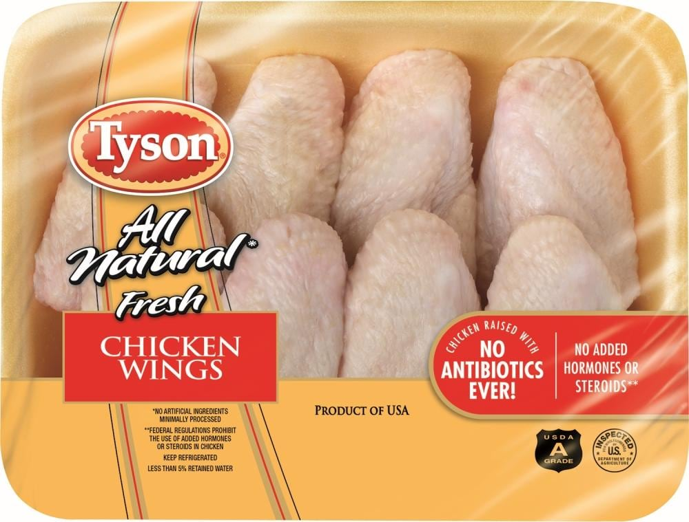 Tyson All Natural Chicken Wings