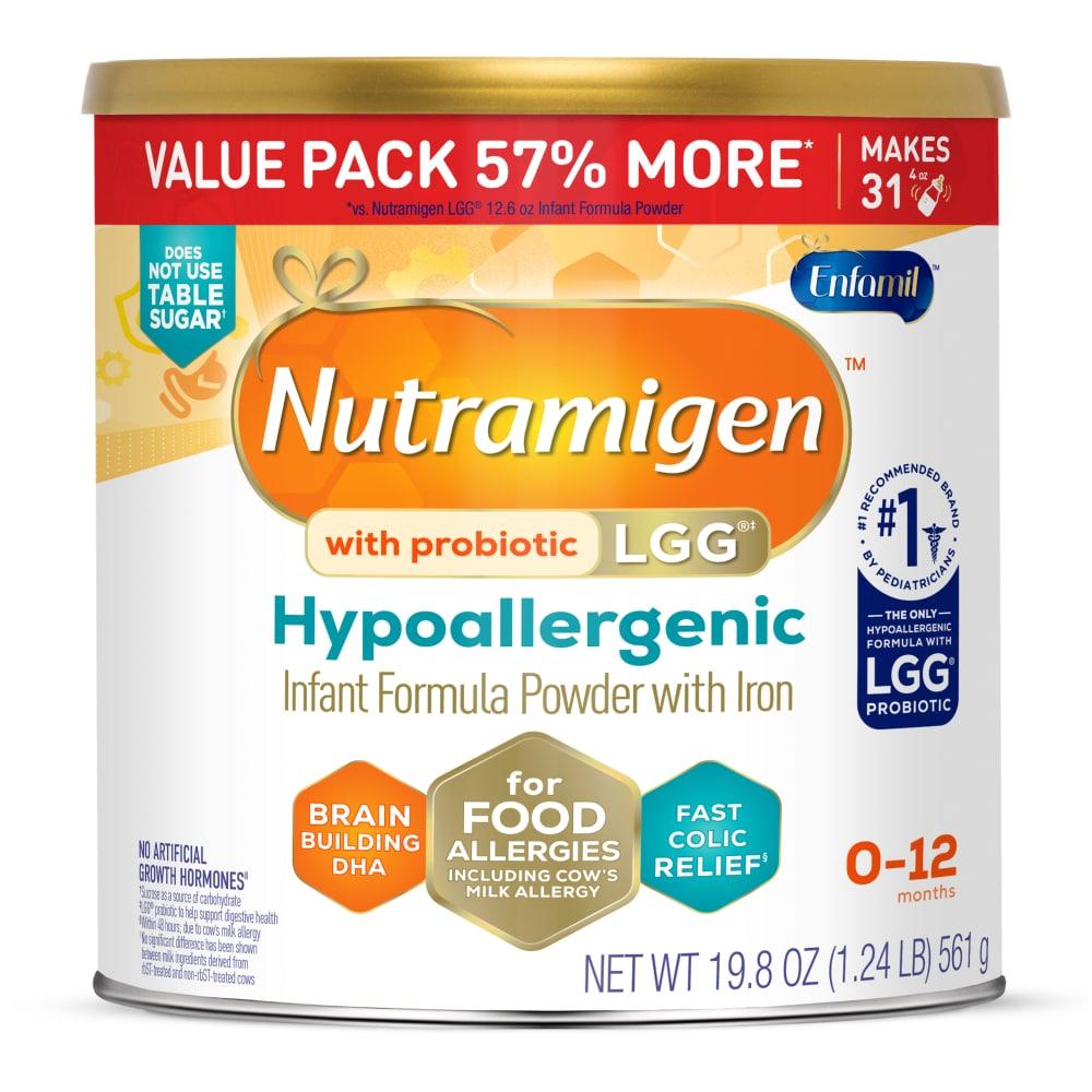 Alimentum Ready To Feed 2 Oz (max 3) enfamil nutramigen with enflora lgg for food allergies infant  formula powder, 19.8 oz