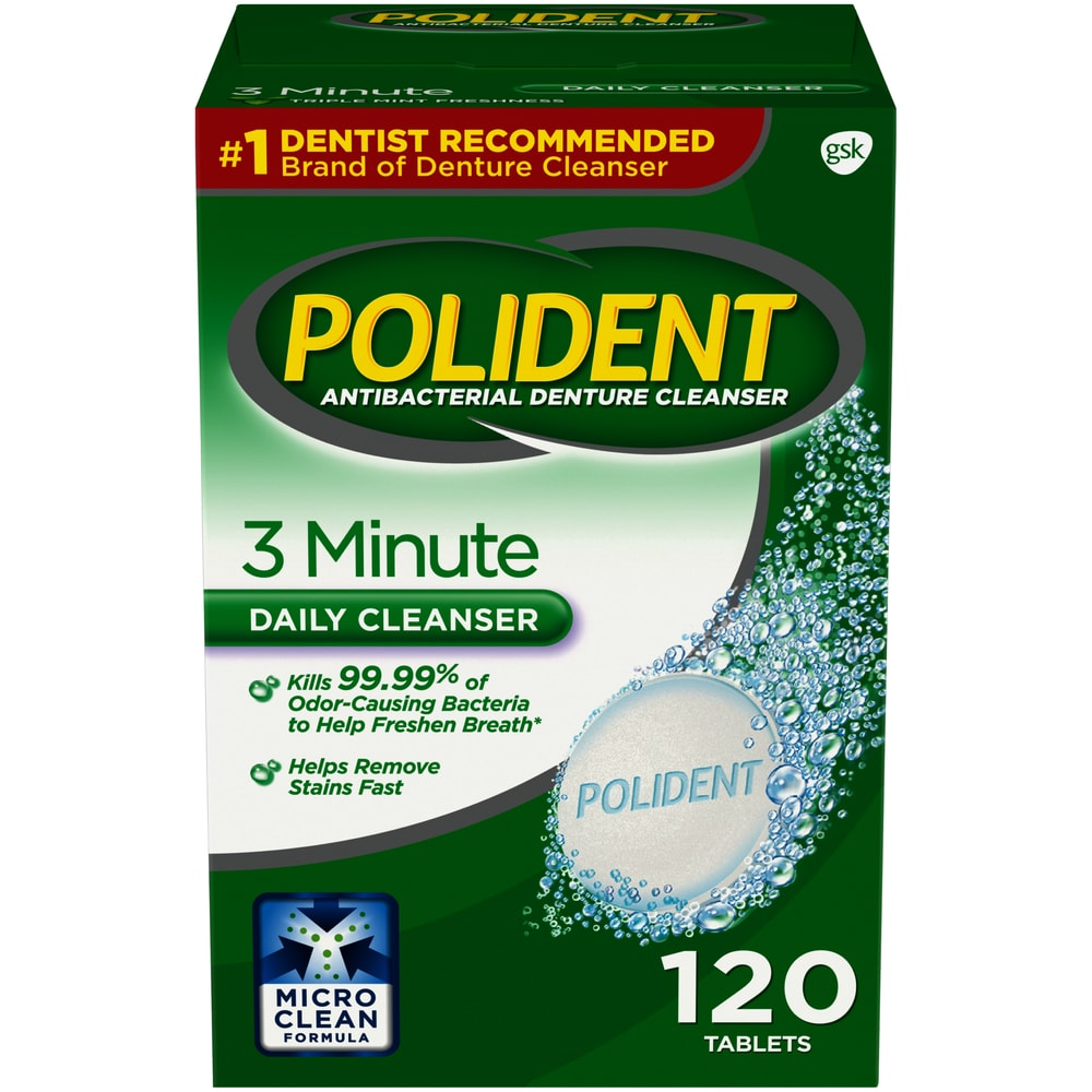 FREE Polident Overnight Denture Cleaning Tablets At ShopRite