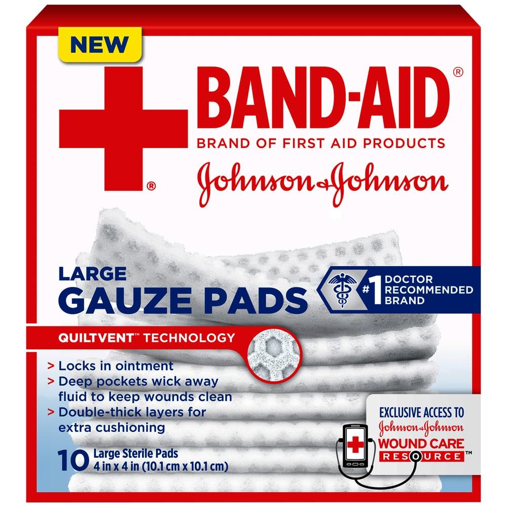 King Soopers - Johnson & Johnson Band-Aid Large Gauze Pads