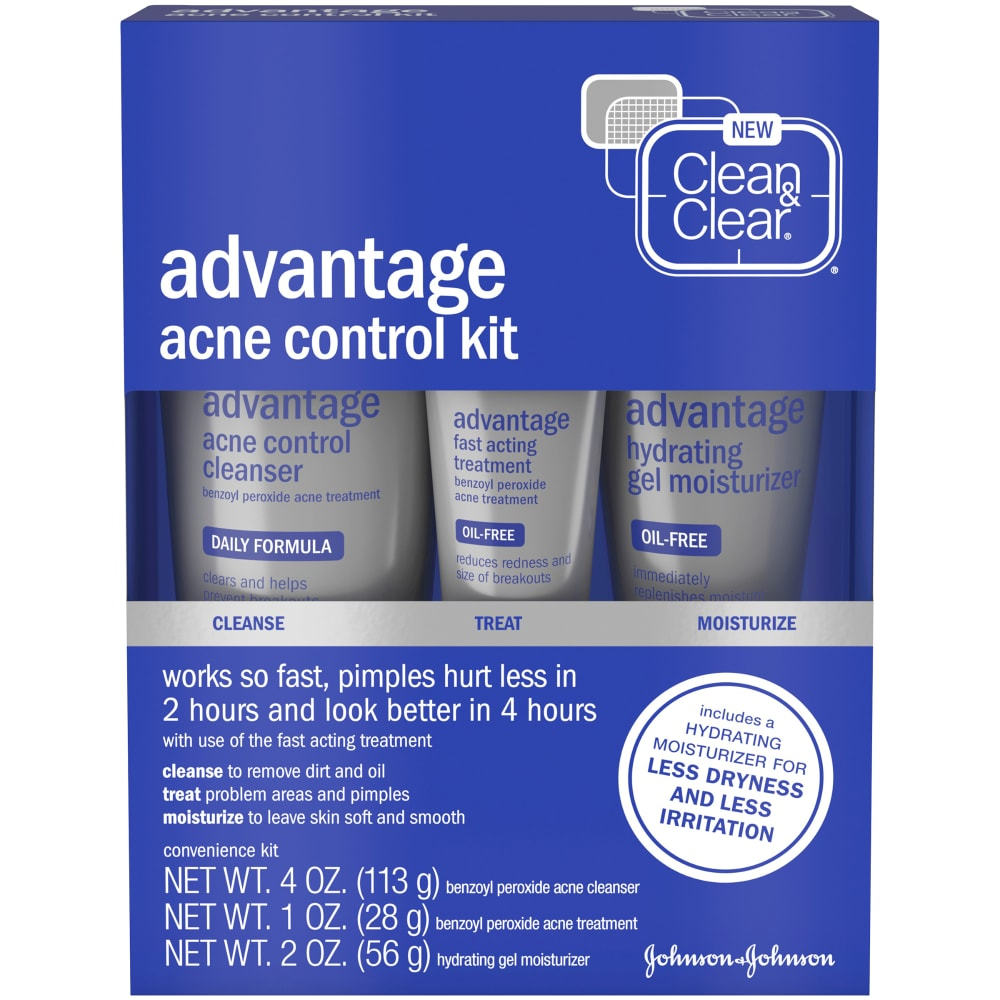 Dillons Food Stores Clean Clear Advantage Acne Control Kit 8 Oz