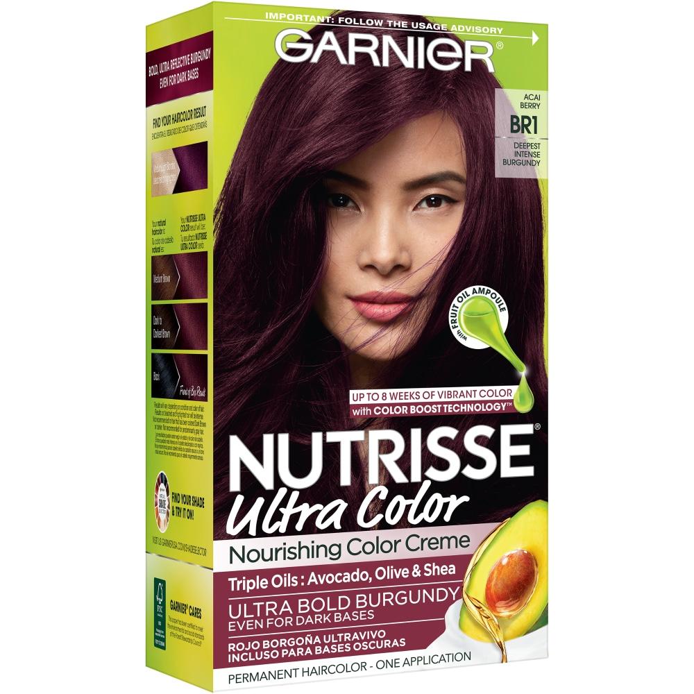 Food 4 Less Garnier Nutrisse Ultra Color Deepest Intense Burgandy