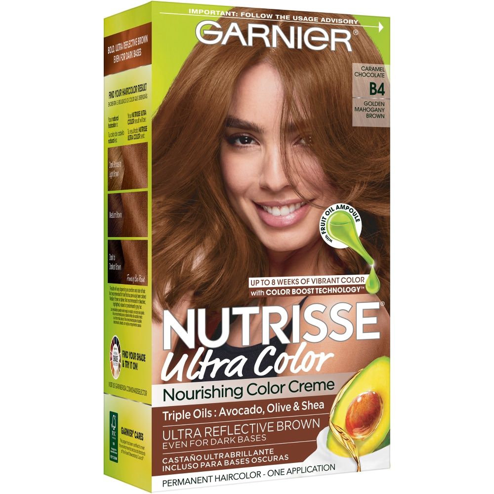 Frys Garnier Nutrisse Ultra Color B4 Caramel Chocolate Hair Color Kit