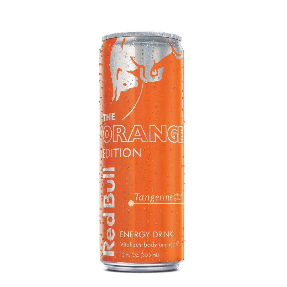 Orange Edition Tangerine Energy Drink
