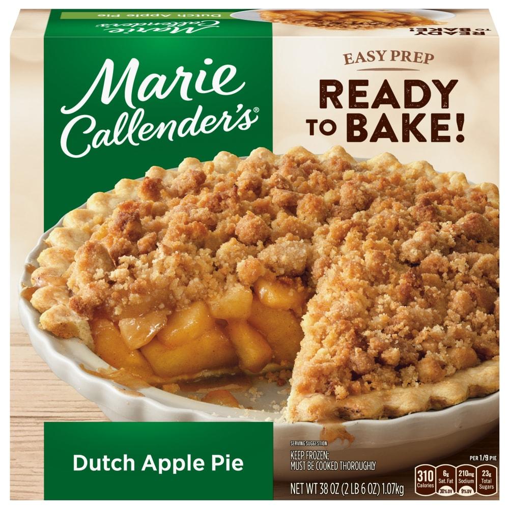 Marie Callender's Dutch Apple Pie Frozen Dessert, 20 oz