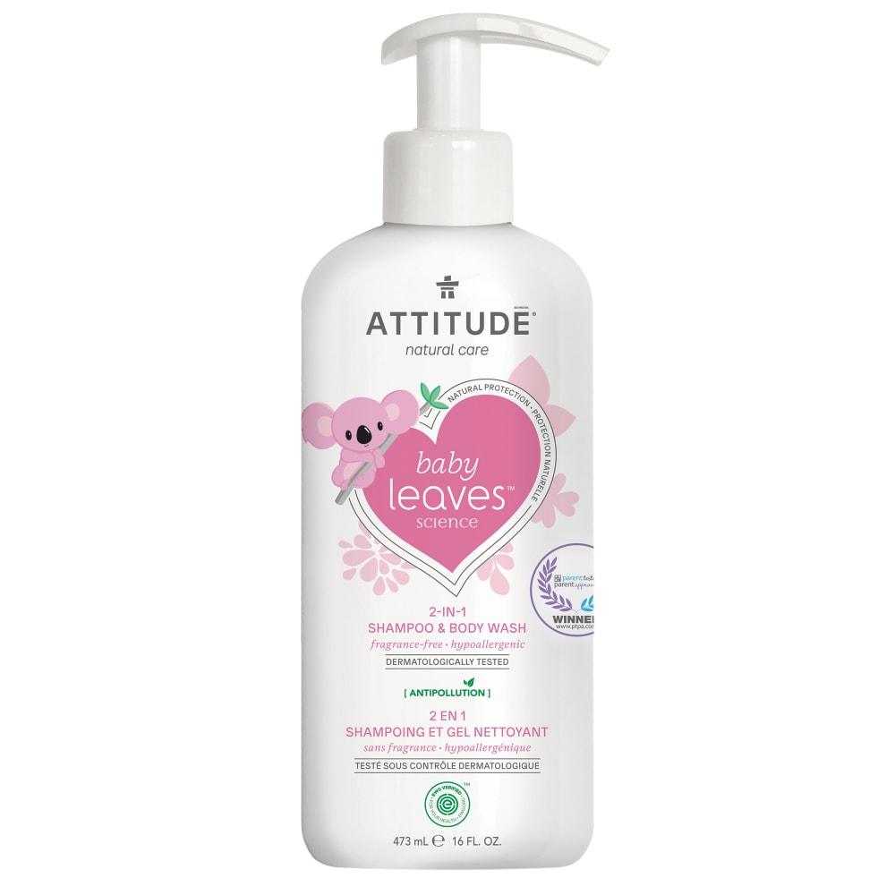 Kroger Attitude Baby Leaves Fragrance Free Shampoo Body Wash 16 Fl Oz