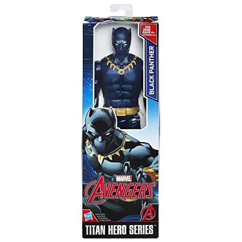 Marvel Black Panther Titan Hero Series 12 Inch Action Figure New Hasbro Avengers