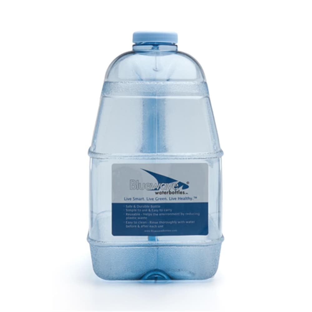 Kroger Bluewave Lifestyle Bpa Free 1 Gallon Square Water Bottle With 48 Mm Cap 1