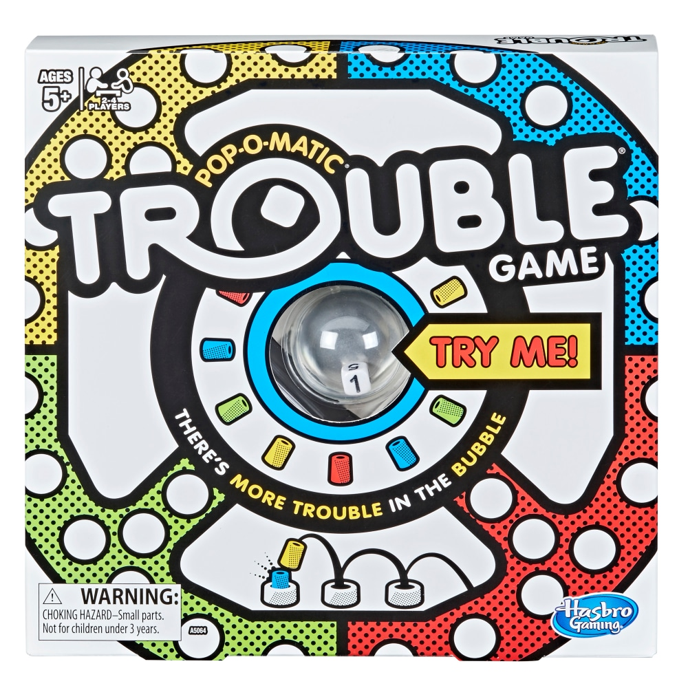 Trouble POP-O-MATIC Game by Hasbro Gaming NEW