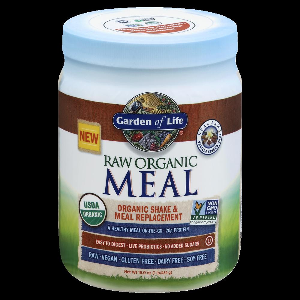 King Soopers Garden Of Life Raw Organic Vanilla Chai Shake Meal Replacement 16 Oz