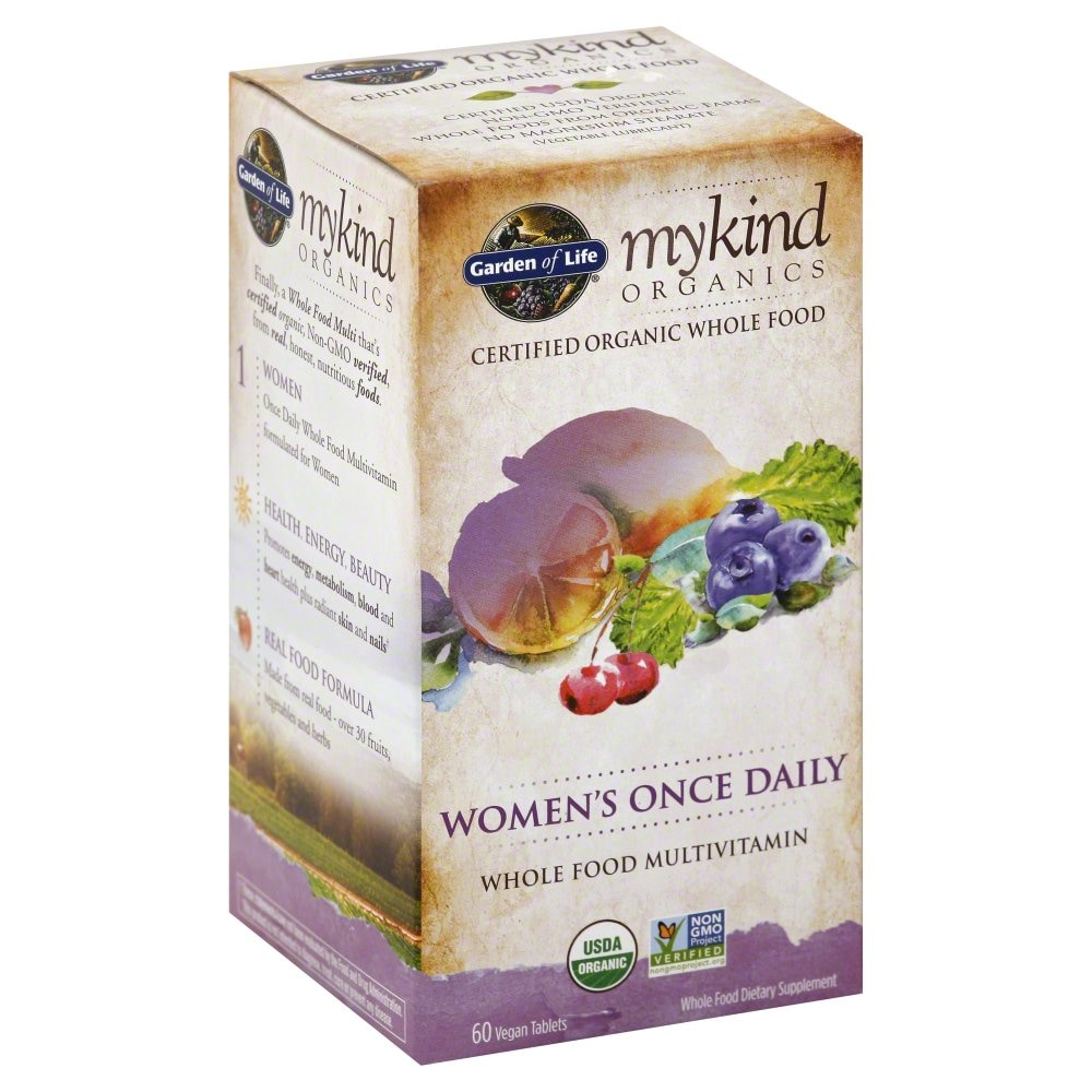 Pick N Save Garden Of Life Organic Women S Daily Multivitamin Vegan Tablets 60 Ct