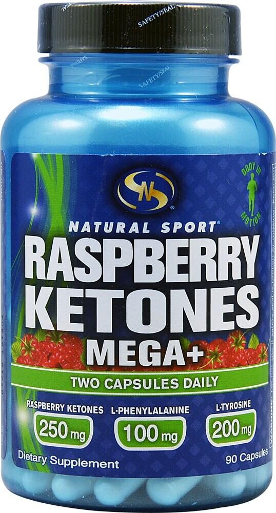 Fry S Food Stores Natural Sport Raspberry Ketones Mega 90 Capsules