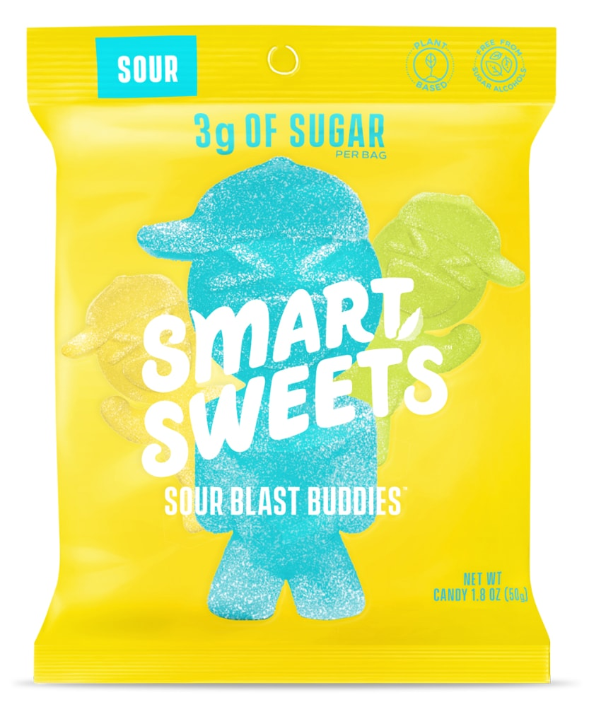 King Soopers Smart Sweets Sour Blast Buddies Candy 1 8 Oz