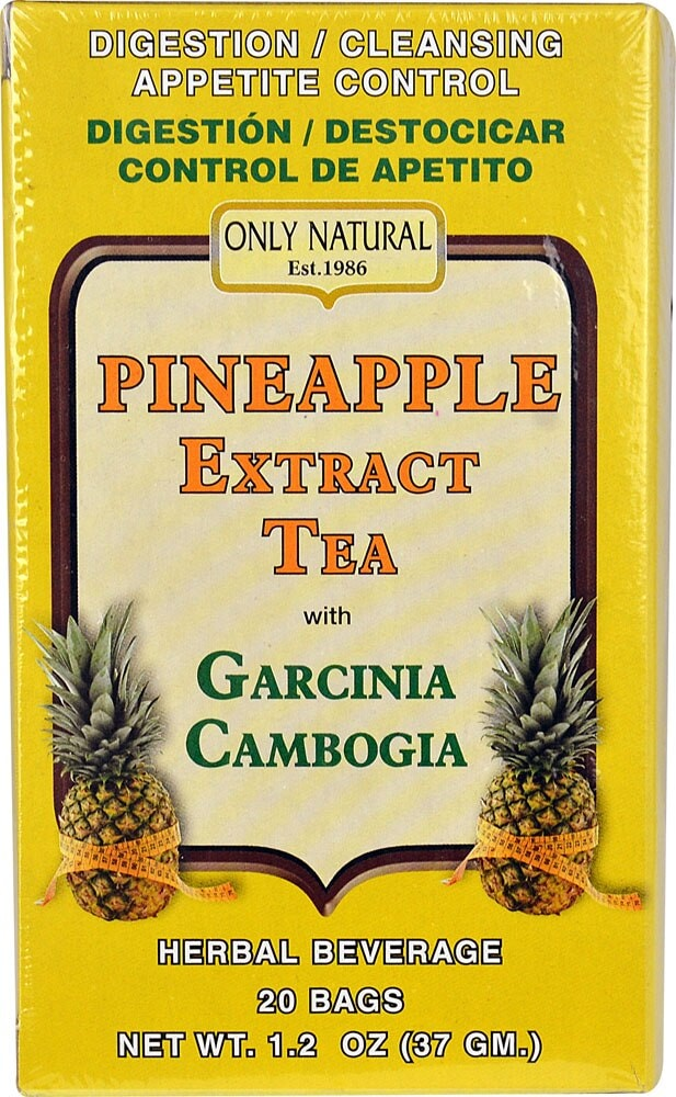 Kroger Only Natural Pineapple Extract Tea With Garcinia Cambogia