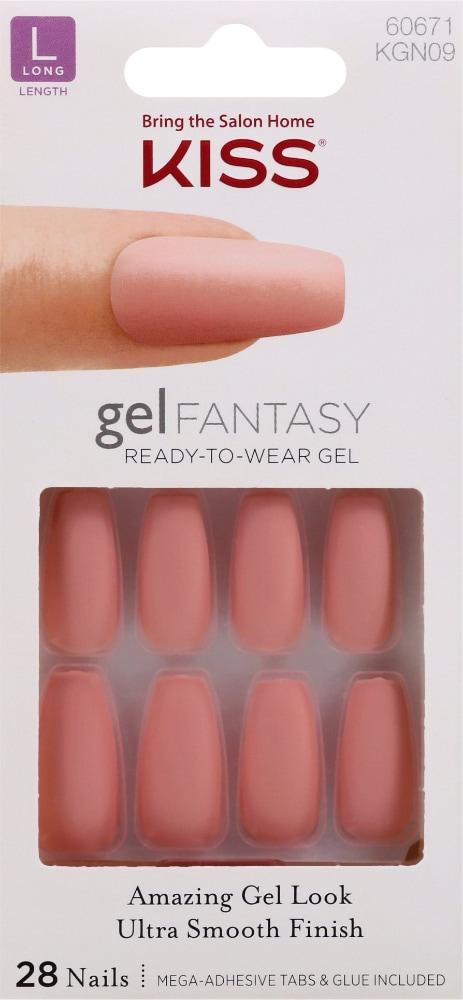 Kroger Kiss Gel Fantasy Nail Kit 1 Ct
